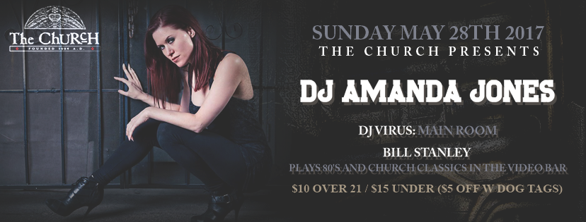 Click to view banner for 05.28.2017 DJ Amanda Jones