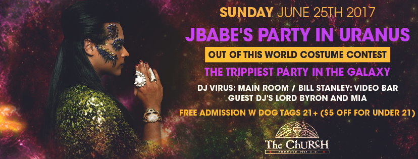 Click to view banner for 06.25.2017 JBabe's Party in Uranus