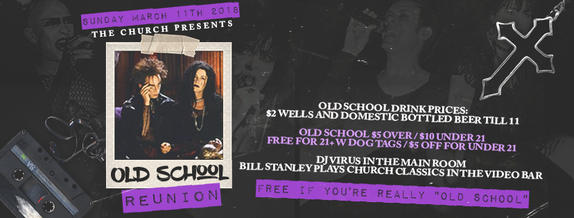 Click to view banner for 03.11.2018 Old School Reunion