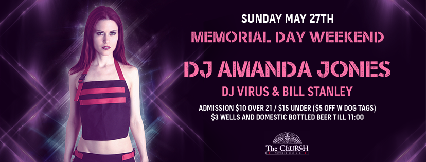 Click to view banner for 05.27.2018 Memorial Day with Amanda Jones