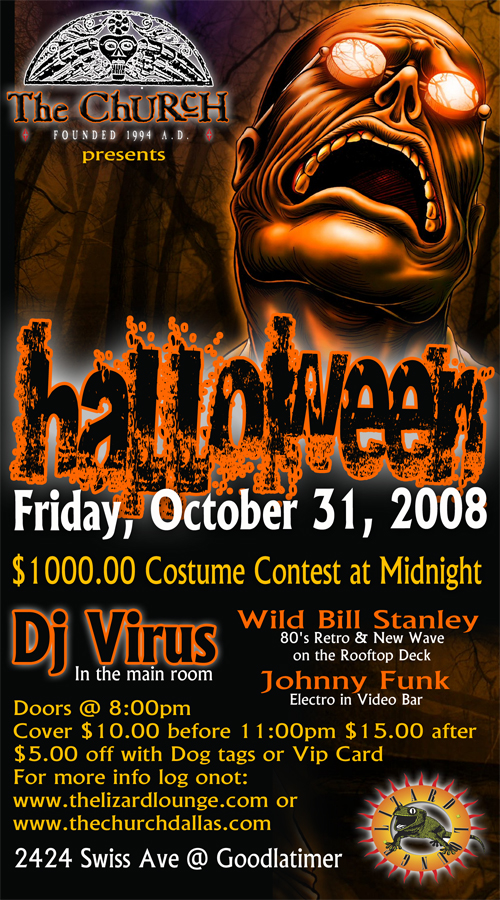 Click to view flyer for 10.31.2008 Halloween