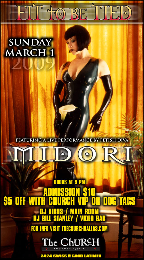 Click to view flyer for 03.01.2009 Fit to be Tied w/ Midori