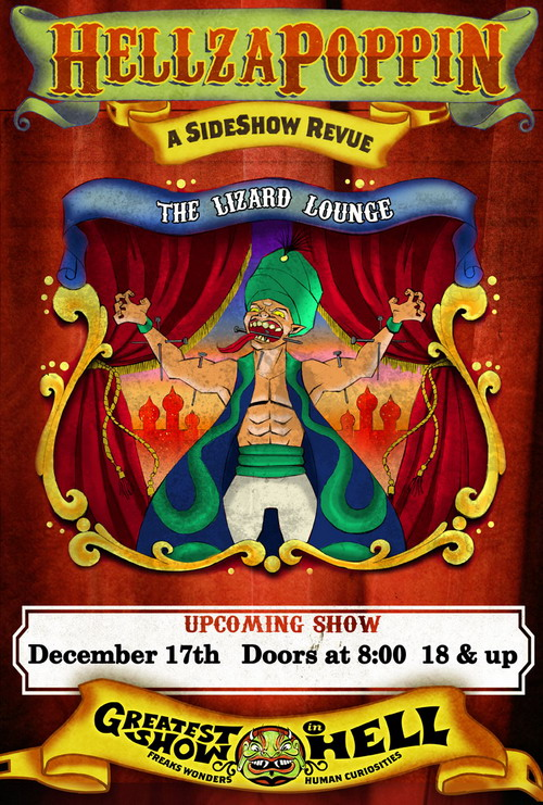 Click to view flyer for 12.17.2009 Hellzapoppin