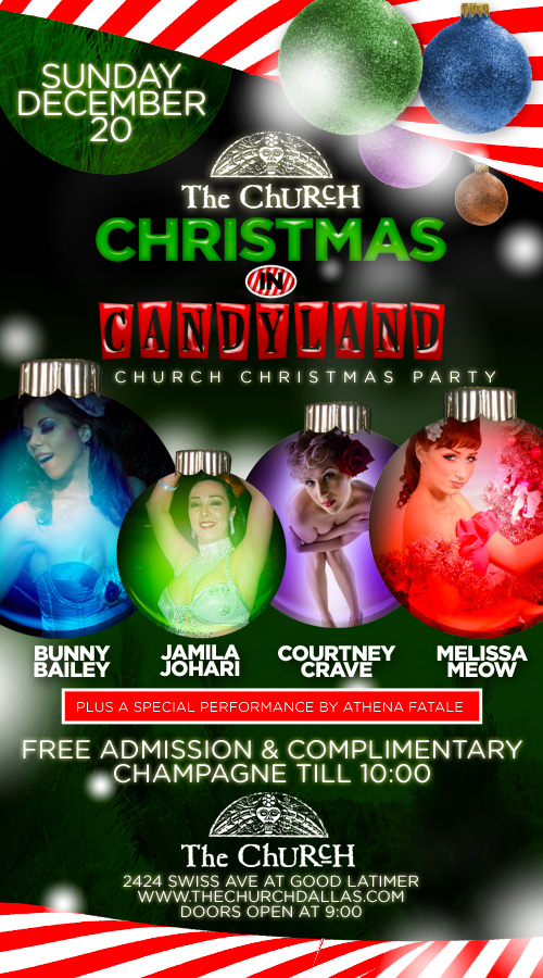 Click to view flyer for 12.20.2009 Christmas In Candyland