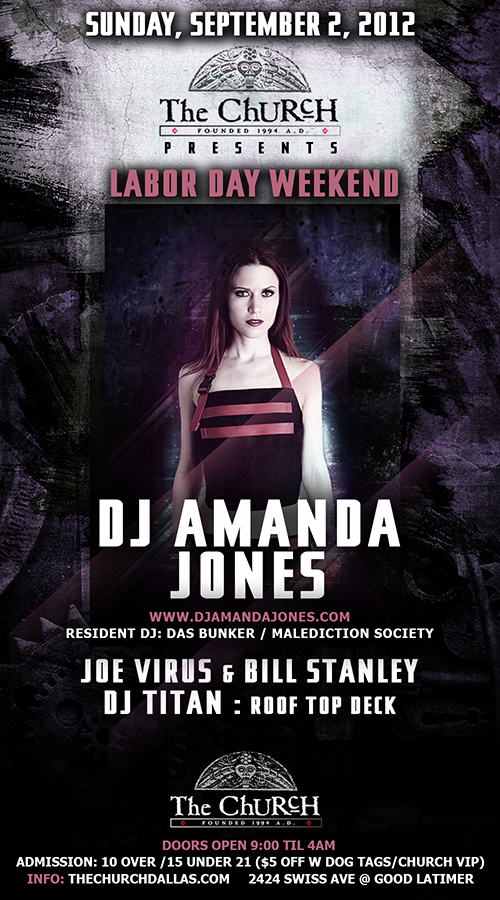 Click to view flyer for 09.02.2012 Labor Day Sunday w/ Amanda Jones