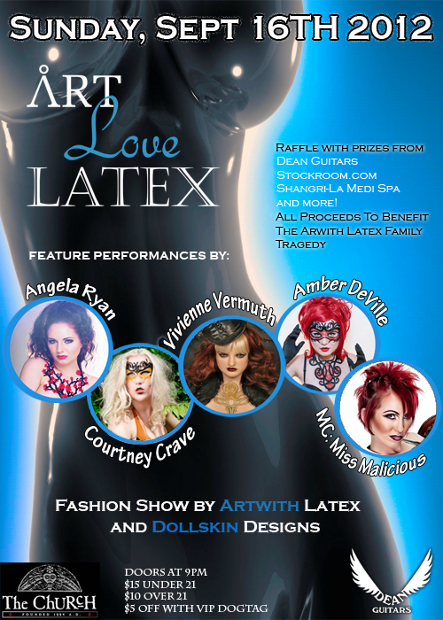 Click to view flyer for 09.16.2012 Art Love Latex