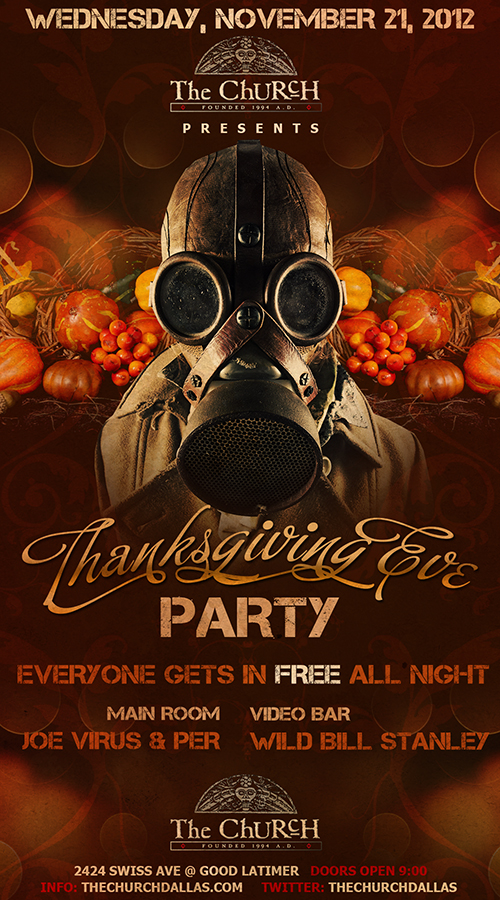 Click to view flyer for 11.21.2012 Thanksgiving Eve
