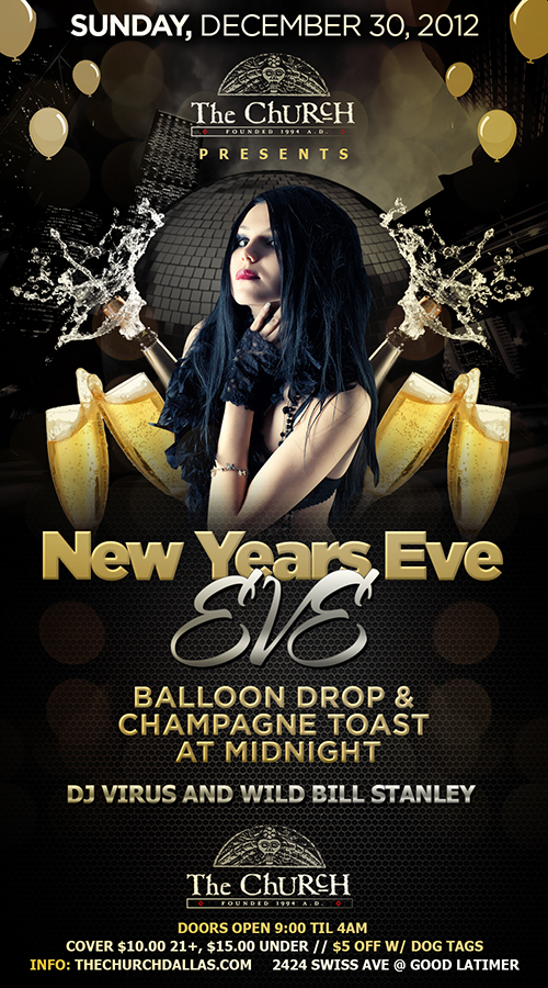 Click to view flyer for 12.30.2012 New Years Eve...Eve