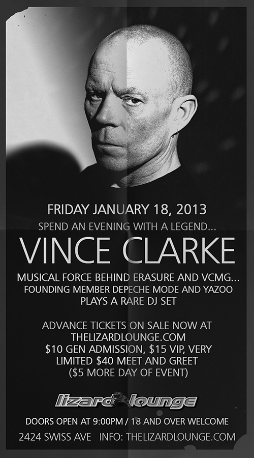 Click to view flyer for 01.18.2013 Vince Clarke