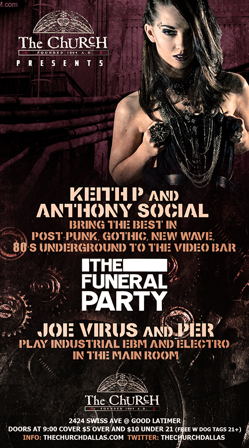 Click to view flyer for 03.28.2013 The Funeral Party