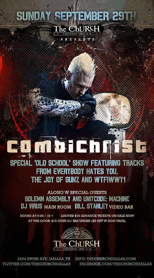 Click to view flyer for 09.29.2013 Combichrist