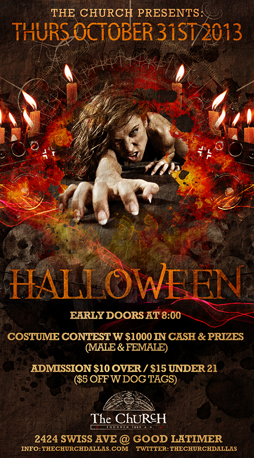 Click to view flyer for 10/31/2013 Halloween on Halloween