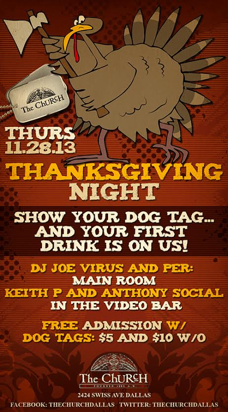 Click to view flyer for 11.28.2013 Thanksgiving Night