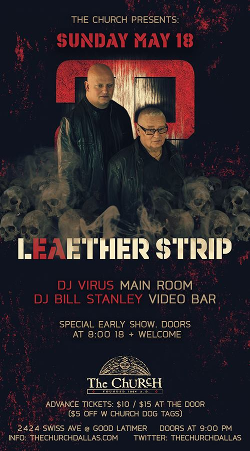 Click to view flyer for 05.18.2014 Leather Strip