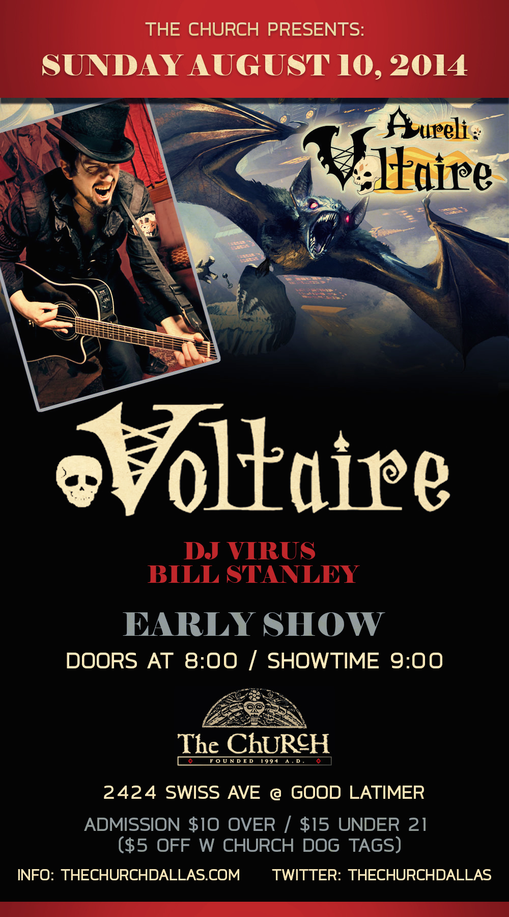 Click to view flyer for 08.10.2014 Voltaire