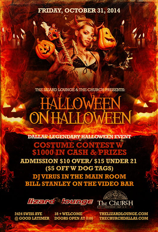 Click to view flyer for 10.31.2014 Halloween on Halloween