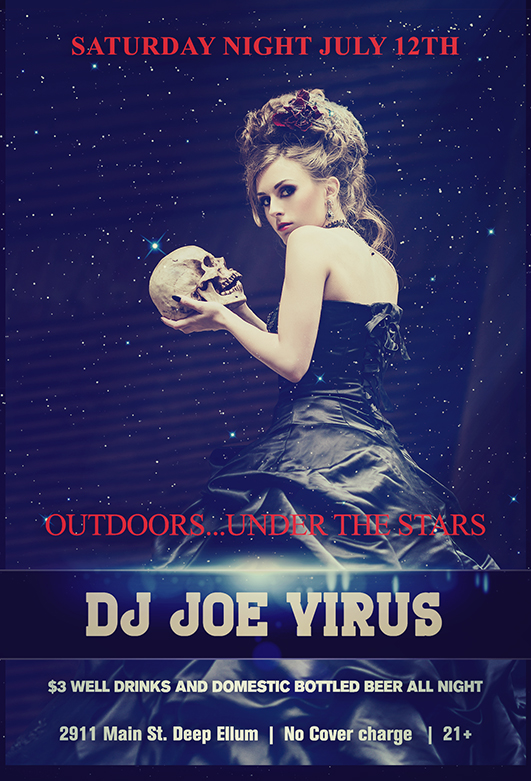 Click to view flyer for 07.12.2014 Outdoors...Under The Stars at 29Eleven Main