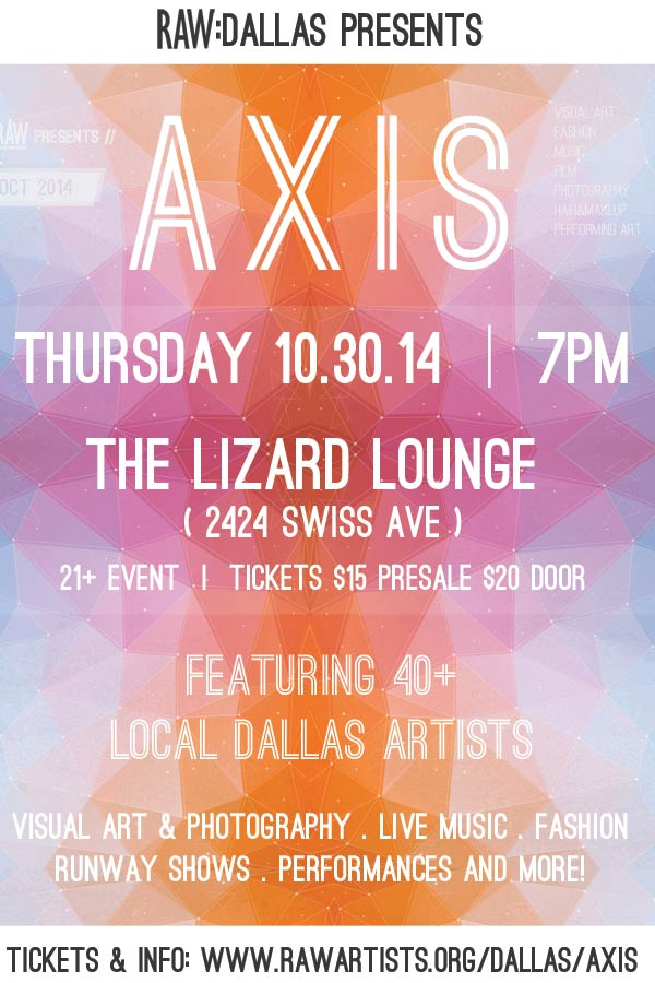10.30.2014 - RAW presents AXIS