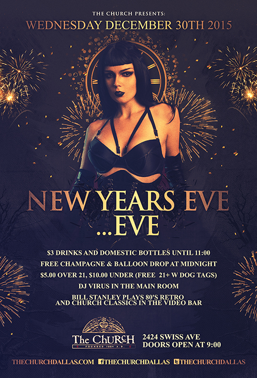 Click to view flyer for 12.30.2015 New Years Eve...Eve