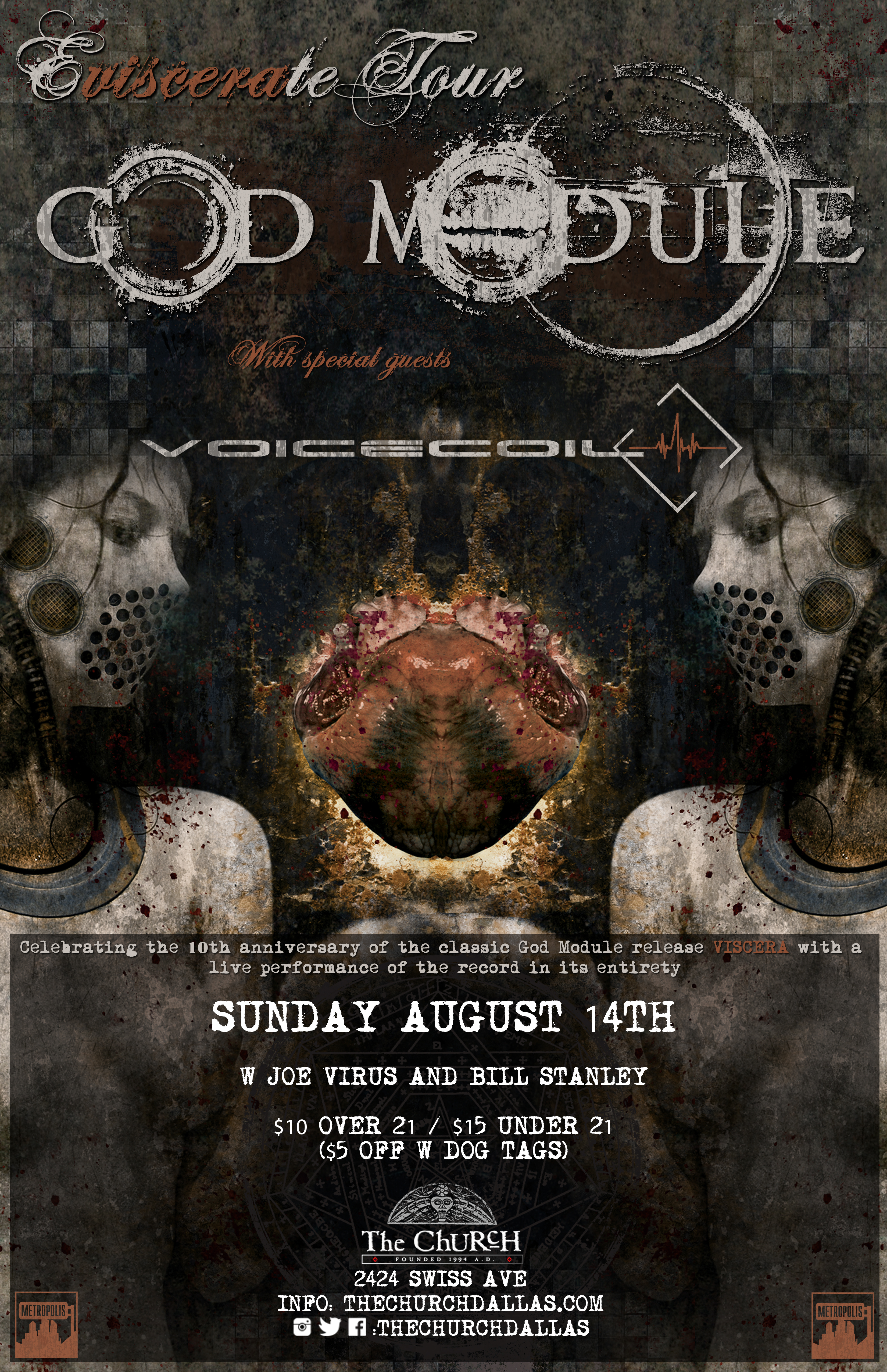 Click to view flyer for 08.14.2016 God Module with Voicecoil