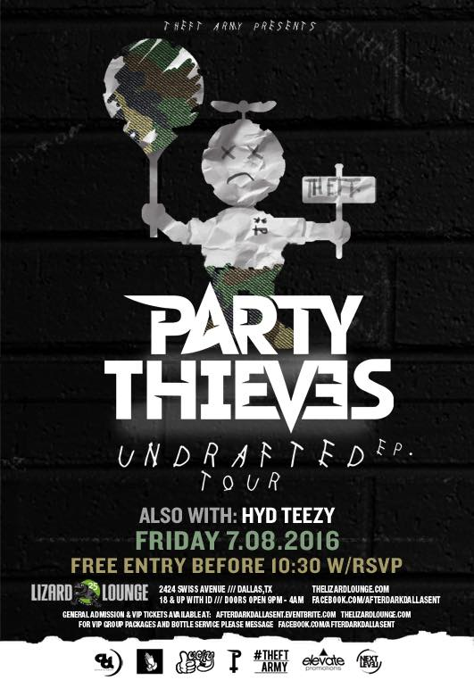 07.08.2016 - Party thieves
