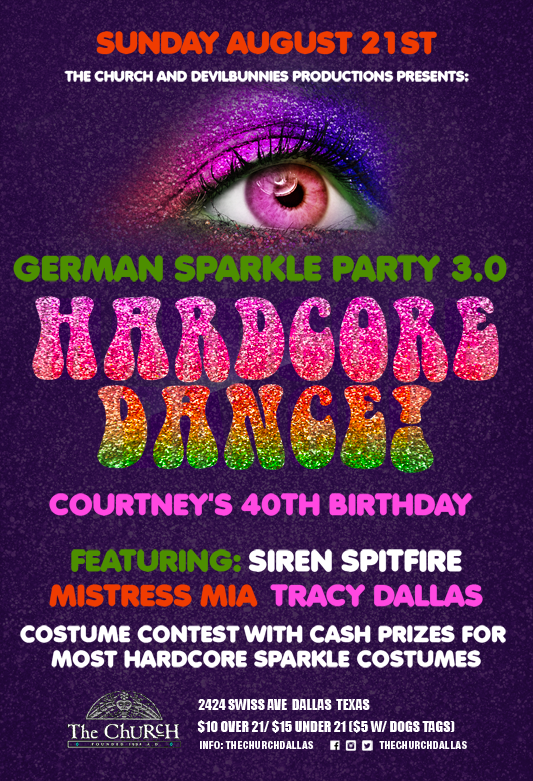 Click to view flyer for 08.21.2016 German Sparkle Party 3.0