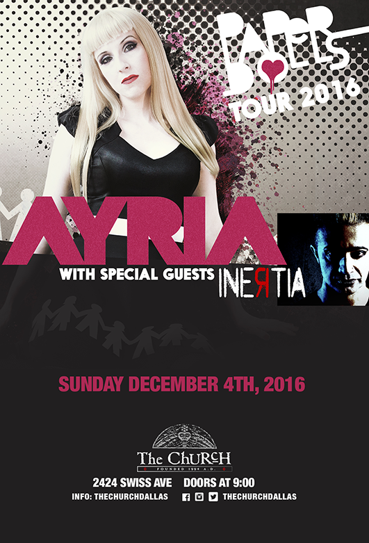 Click to view flyer for 12.04.2016 Ayria w/ Inertia