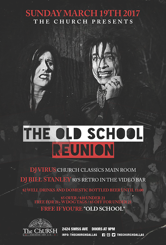 Click to view flyer for 03.19.2017 Church Old School Reunion 2
