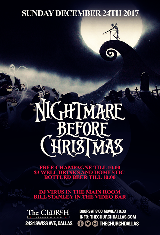 Click to view flyer for 12/24/2017 Nightmare Before Christmas
