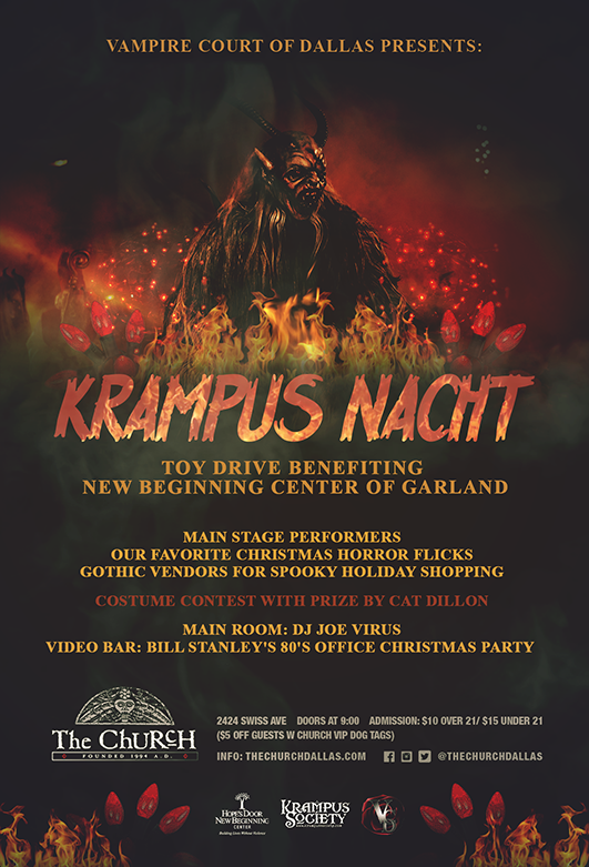 Click to view flyer for 12/17/2017 Krampus Nacht