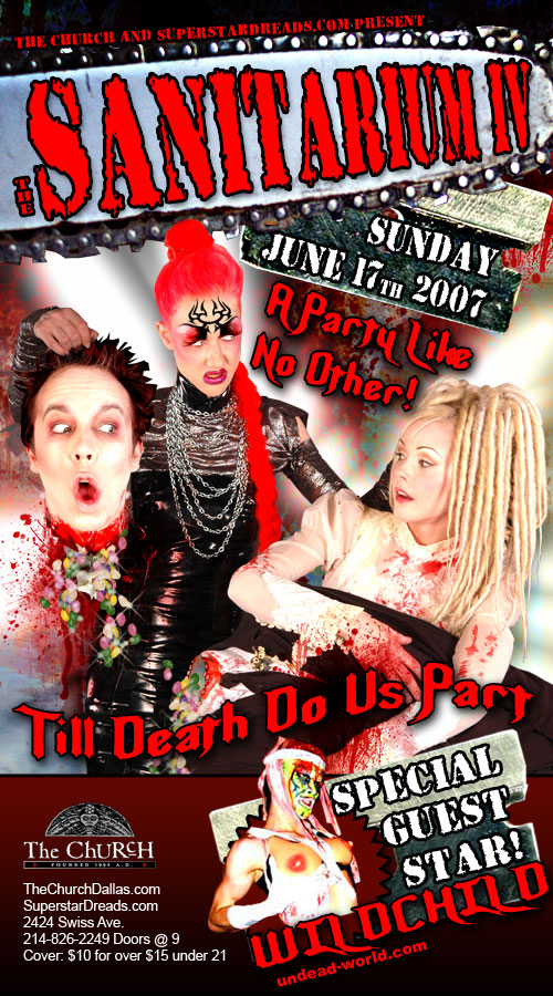 Click to view flyer for 06.17.2007 Sanitarium IV