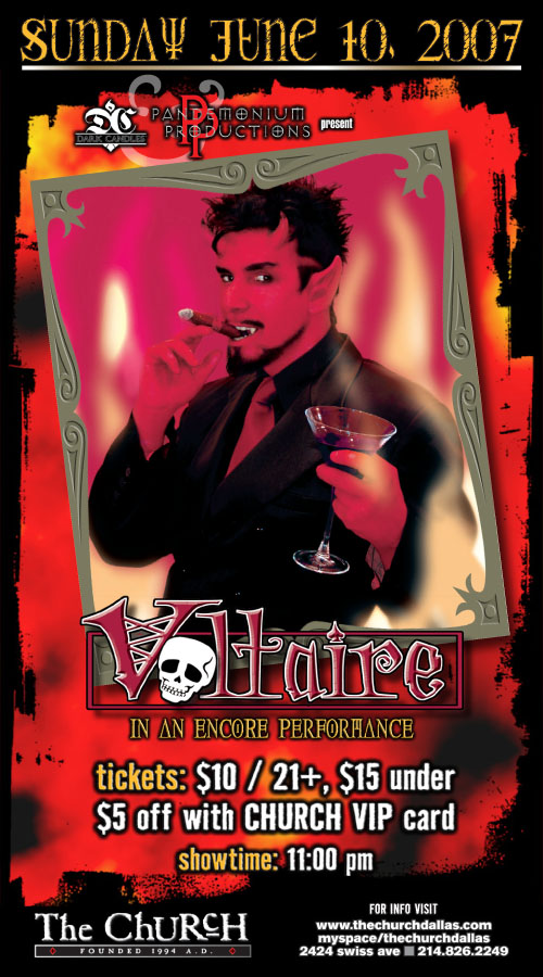 Click to view flyer for 06.10.2007 Voltaire
