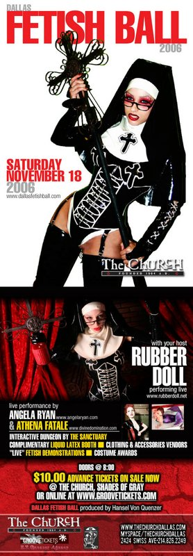 Click to view flyer for 11.18.2006 Fetish Ball 2006